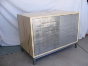 cabinet--tin front